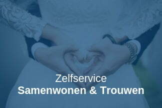 Zelfservice samenwonen en trouwen